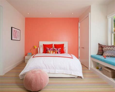 coral bedroom walls coral walls houzz