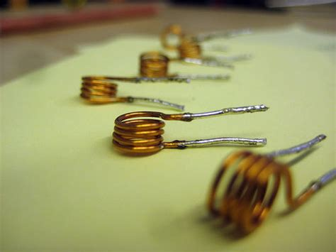 how to make a large inductor a simple air inductor induction coil