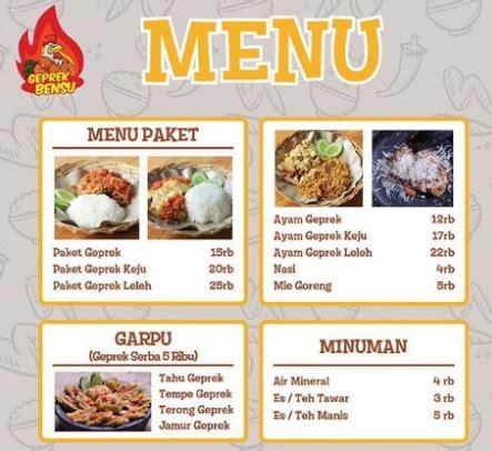 Ayam Gepuk Pak Gembus Vtb Paket Nasi Ayam Original Thai Tea harga i am geprek bensu ayam geprek pedas dan enak althaff artikel