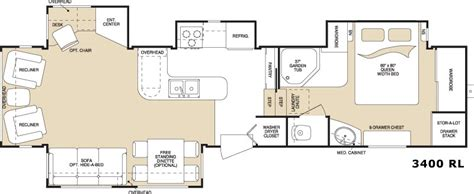 montana floor plans 2006 keystone montana fifth wheel rvweb com