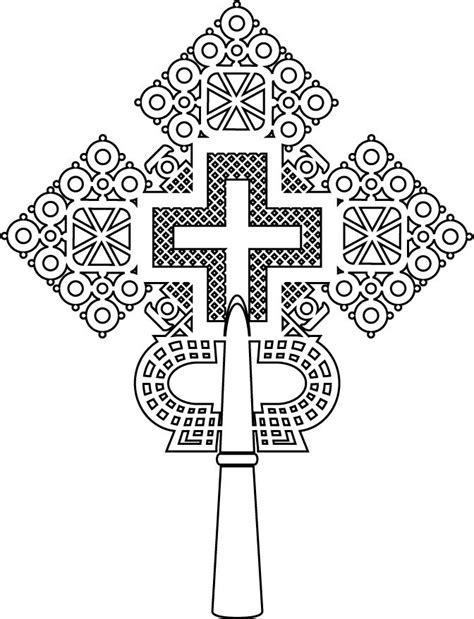 ethiopian cross tattoo 792 best coptic crosses images on cross