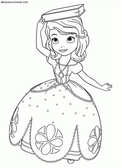 dibujos de princesas para colorear p gina 2 dibujos de la princesa sof 237 a princesa disney para colorear