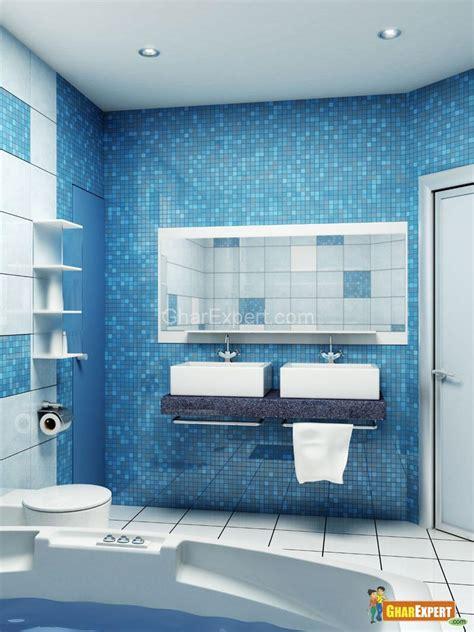 tiles design gharexpert bath room with mosaic tiles gharexpert