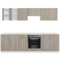 Cabinet Unit Oak Look Kitchen Cabinet Unit With Built In Oven 8