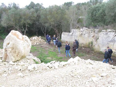 i giardini di pietra visite ai giardini di pietra pietra leccese estrazione e
