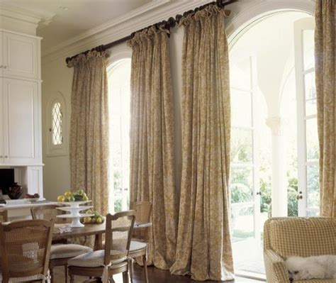 Curtain Drapes Ideas French Doorwindow Treatments French Door Curtains