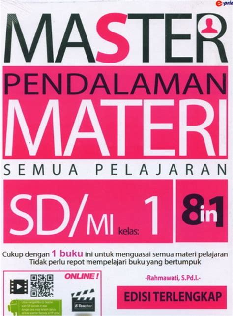Buku Pelajaran Sd Mi Sakti Pkn Kelas 1 Ktsp 2006 bukukita 8 in 1 master pendalaman materi semua pelajaran sd mi kelas 1
