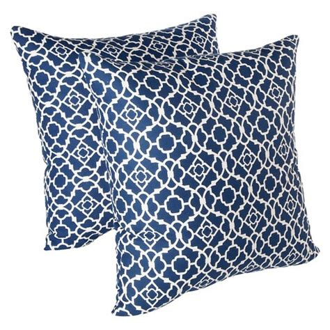 waverly lovely lattice 2 pack decorative pillows target