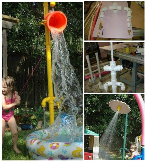 Backyard Sprinkler Park by 48 Diy Projects Out Of Pvc Pipe You Should Make Diy Crafts