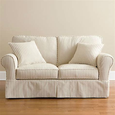 slipcovered loveseat your guide to buying a loveseat slipcover on ebay ebay