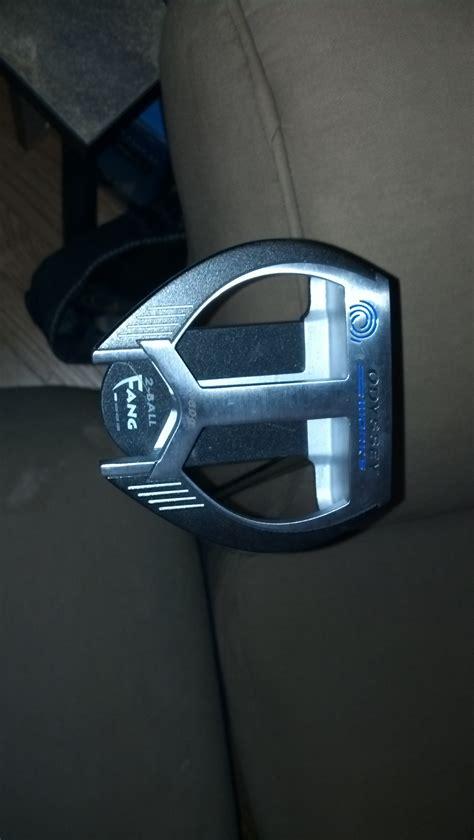 New Like New Stick Stik Golf Putter Odyssey Works Versa Marxman Fang equipment review odyssey works versa 2 fang