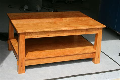 Handmade Wood Coffee Table - handmade coffee tables handmade shadow coffee table the