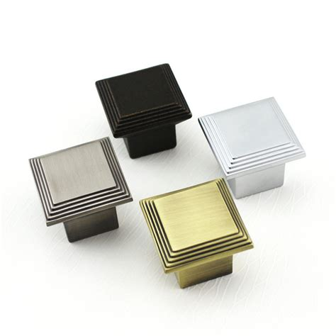 square kitchen cabinet knobs square knob cabinet knob dresser knobs kitchen cabinet pull