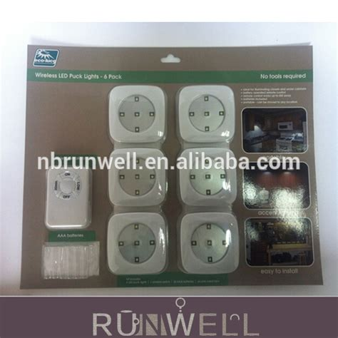 remote battery operated cabinet lights china supplier new design battery operated wireless remote