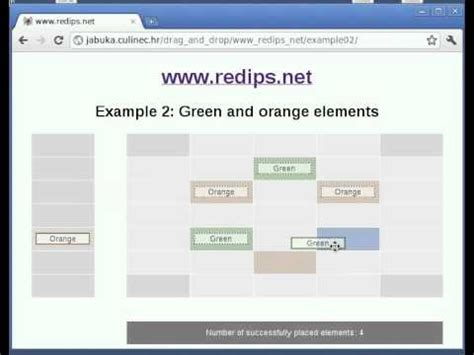 javascript drag and drop tutoriale video drag and drop table content with javascript youtube