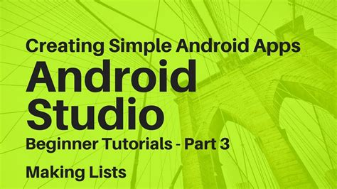 android studio tutorial for beginners youtube android studio for beginners part 3 youtube