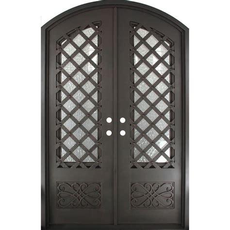 iron doors unlimited 62 in x 97 5 in luce lattice
