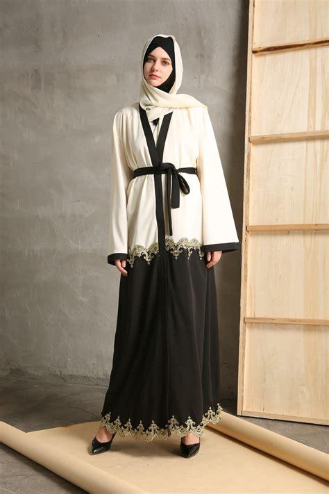 Cardigan Muslim abaya jilbab open cardigan kaftan muslim dress arab
