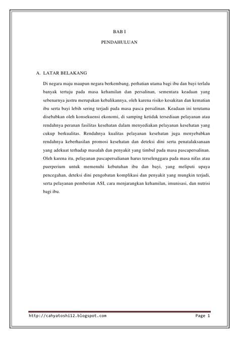 Asuhan Kebidanan Ibu Nifas Deteksi Dini Komplikasi Juraida Roito H makalah nifas