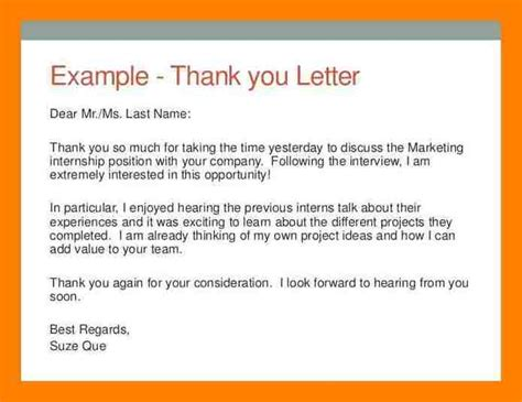 7 generic thank you letter fancy resume