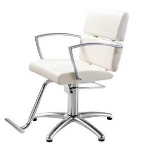 White Salon Chairs Charlotte White Salon Chair Standish Salon Goods