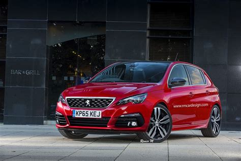 peugeot 308 and opel astra facelift renderings will make