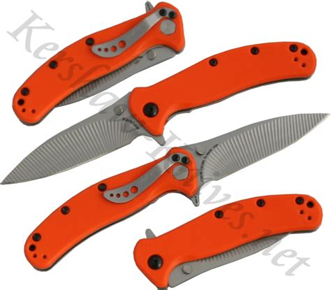 kershaw zing knife kershaw zing orange knife 1735or