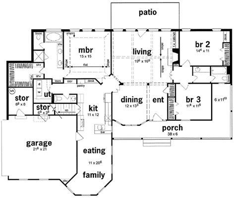 era house plans influence 8409jh 1st floor master suite