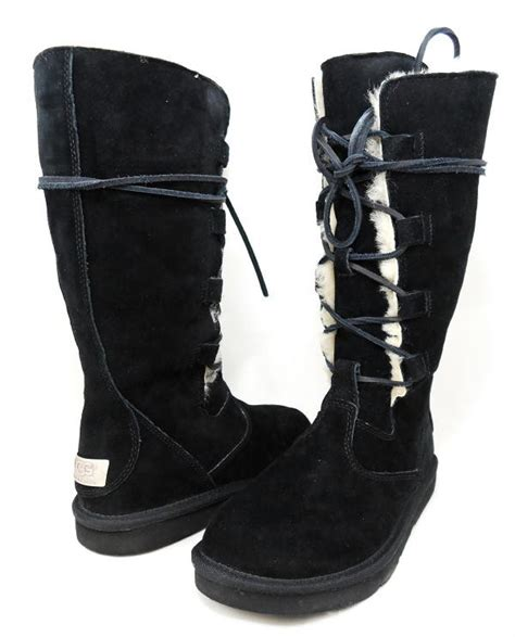 lace up front boots ugg boots lace up front