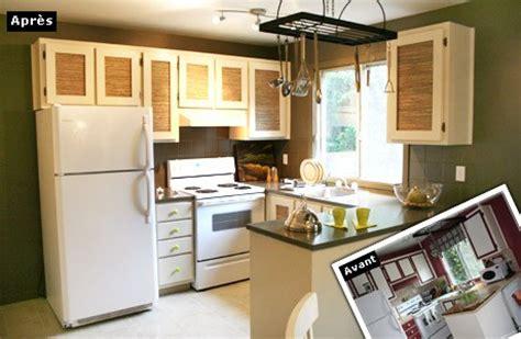 cuisine r駭ov馥 avant apr鑚 le home staging design et pas cher agence briques en