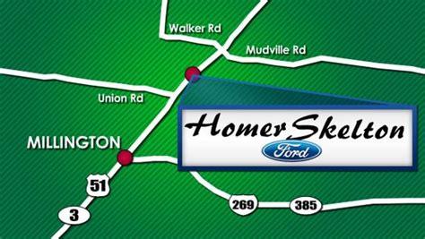 Homer Skelton Ford Millington by Homer Skelton Ford Of Millington Ford Dealer
