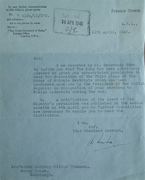 Permission Letter Not To Wear Letters Godfrey Thomson Project