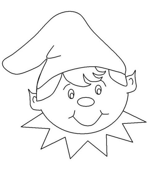 elf on the shelf and santa coloring pages coloriage 224 imprimer personnages f 233 eriques lutin