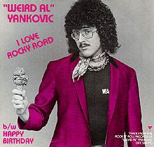 weird al yankovic rocky road i love rocky road wikipedia