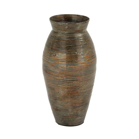 Floor Vase by Unique Large 20 Quot Bamboo Floor Vase Tuscan Antique