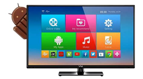 vu launches 32 inch android kitkat led tv at rs 26 990