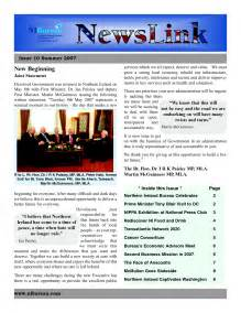 templates for newsletters in word 5 best images of free printable newsletter templates