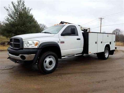 2010 dodge truck dodge ram 5500 hd 2010 utility service trucks