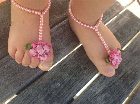 how to make beaded barefoot sandals baby beaded barefoot sandals collection for babies