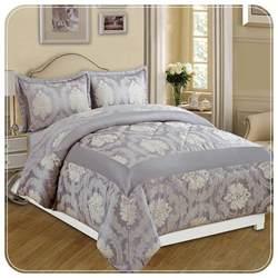 Jacquard Bedspread Mauve 3 Luxury Jacquard Bedspread Imperial Rooms