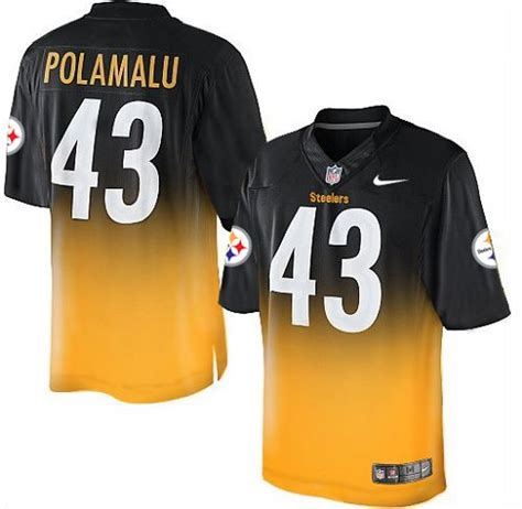 steelers jersey authentic troy polamalu jersey steelers big elite limited nike womens youth