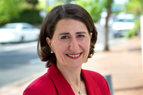 Nsw Marriage Records New Nsw Premier Gladys Berejiklian Supports Marriage Equality Observer