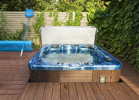 how much is a jacuzzi bathtub how much does a hot tub weigh preparing the deck for the