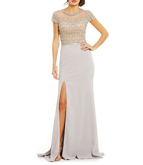 terani couture beaded gown terani couture beaded bodice gown dillards