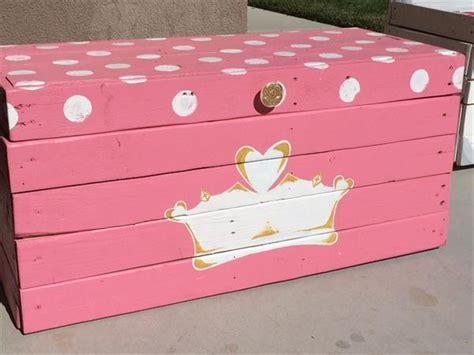 toy box ideas diy pallet princess toy box pallet furniture plans