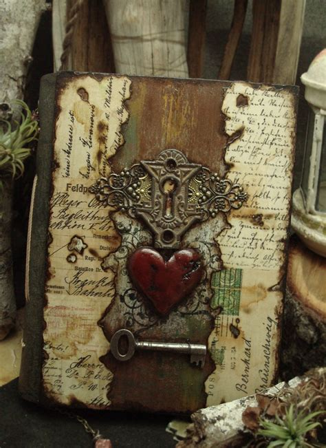 Handmade Diary Ideas - altered alchemy gallery handmade journals