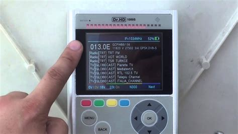 set  dish   satellitefast easyusing  spectrum  sat id  drhd  meter