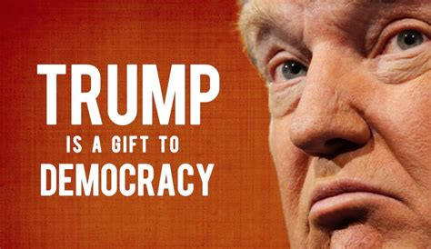 donald trump democrat food for thought is donald trump actually a gift to