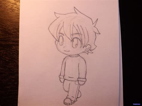 Draw A Chibi Boy Step By Step Drawing Sheets Added By How To Draw A Chibi Boy