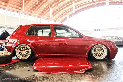 Golf Auto Tuning by Vw Golf Iv Red And Clean Autotuning De